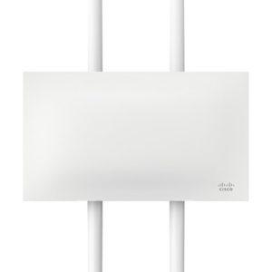 Cisco Meraki MR-74 Outdoor Access Point with 5 Year Enterprise License, 4 Dual-band Omni Antennas