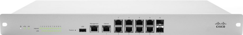 cisco meraki mx100