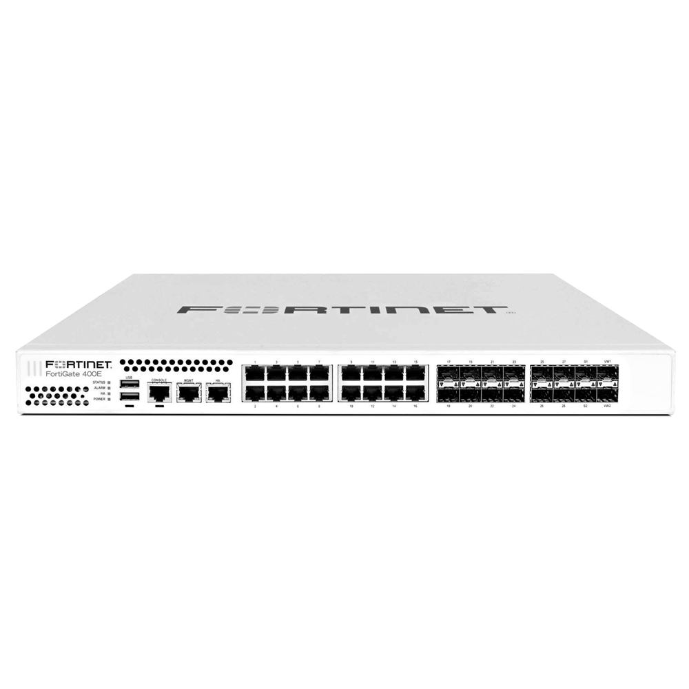 Fortinet FortiGate 401E Next Generation Firewall plus ASE FortiCare and Fortiguard 360 Protection