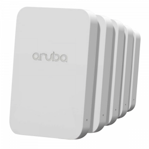 HP Aruba AP203H 802.11ac Unified Hospitality Access Point Bundle – 5-Pack Promo