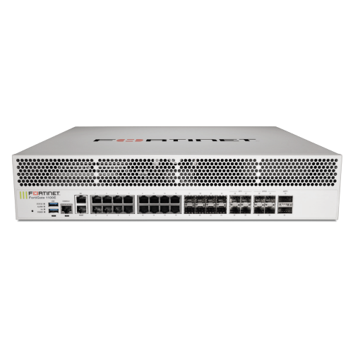 Fortinet FortiGate 1100E Next Generation Firewall plus 24×7 FortiCare and FortiGuard Enterprise Protection
