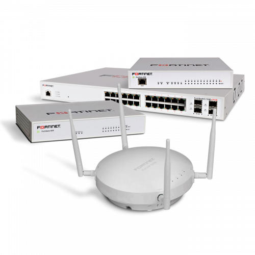 Fortinet GAS (FortiGate, FortiAP and FortiSwitch) Bundle – Super Level