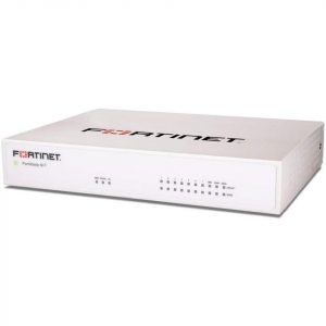 Fortinet FortiWifi-61F / FWF-61F Hardware plus ASE FortiCare and FortiGuard 360 Protection - FWF-61F-BDL-817