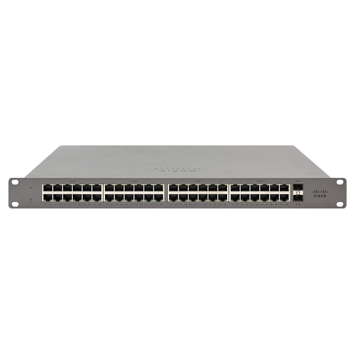 Meraki Go – 48 Port Switch – US Power – GS110-48-HW-US