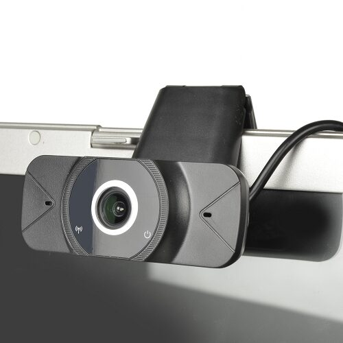 1080p USB 2.0 Webcam w/Built-in Microphone (Black)