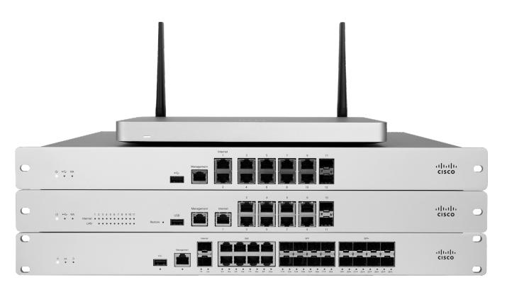 meraki mx series firewalls