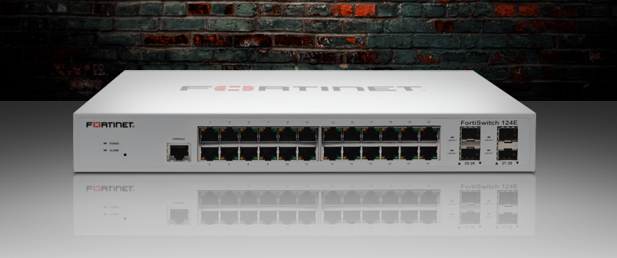 FortiSwitch 124E managed switch