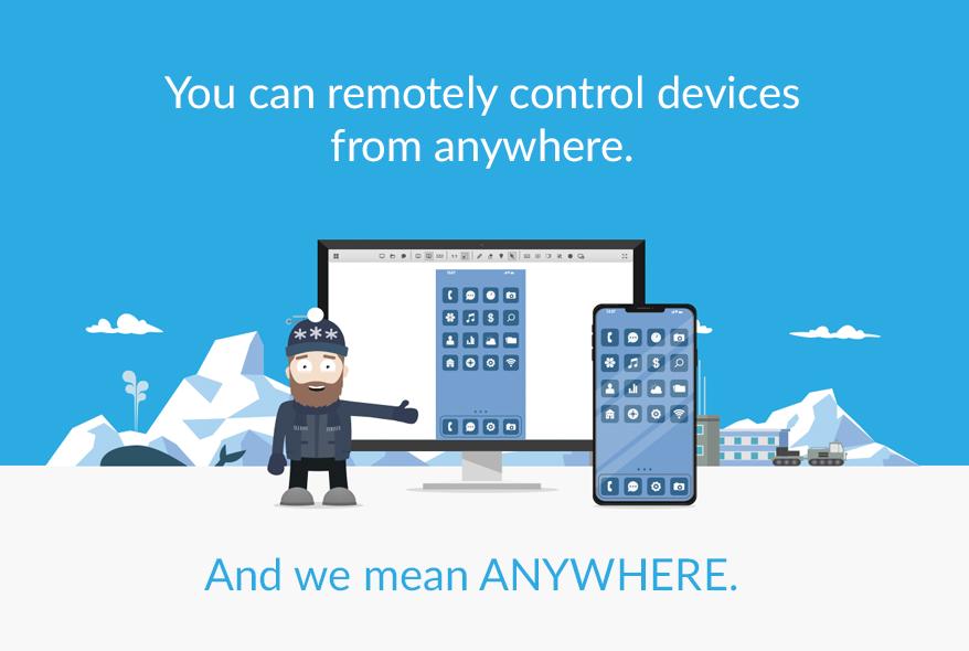 ISL Online remote desktop software