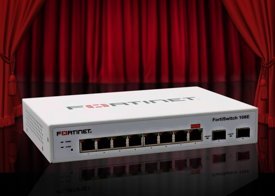FortiSwitch 108E managed switch image