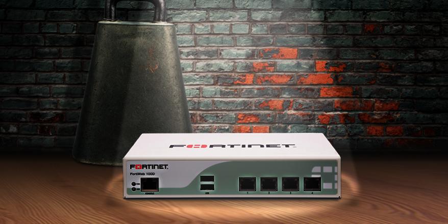 FortiWeb 100D appliance