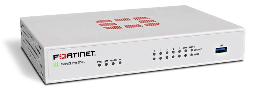 FortiGate 52E Next-Gen firewall