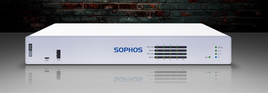 Sophos XGS 116 firewall