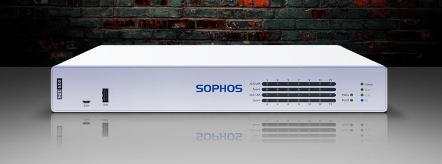 Sophos XGS 126 firewall
