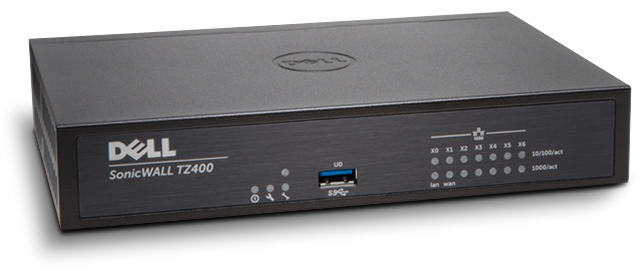 SonicWall TZ400 Next-Gen firewall