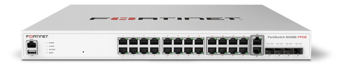FortiSwitch M426E FPoE