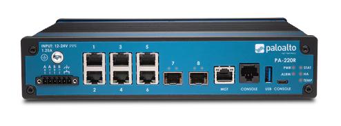 Palo Alto PA-220R Next-Gen firewall