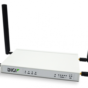 Accelerated Digi 6350-SR 4G LTE Router with Wi-Fi and Integrated Plug-In LTE Modem; CAT 3
