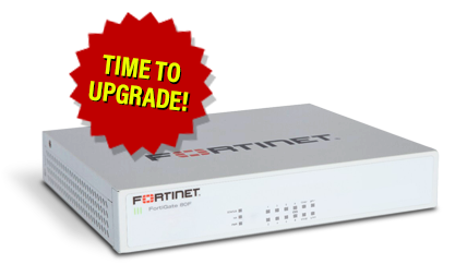 FortiGate 80F Upgrade
