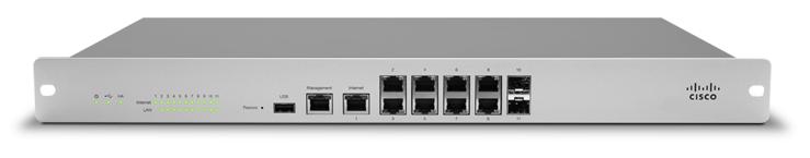 Meraki MX100 next-generation firewall